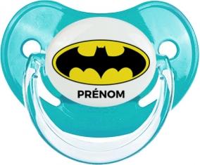 Tetine Batman + prénom embout Physiologique personnalisée