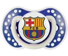 FC Barcelone + prénom : 0/6 mois - Bleu-marine phosphorescente embout Lovi Dynamic