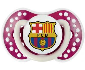 FC Barcelone + prénom : 0/6 mois - Fuchsia phosphorescente embout Lovi Dynamic