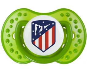 Club Atlético de Madrid + prénom : 0/6 mois - Vert classique embout Lovi Dynamic
