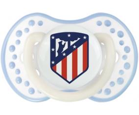 Club Atlético de Madrid + prénom : 0/6 mois - Blanc-cyan classique embout Lovi Dynamic
