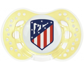 Club Atlético de Madrid + prénom : 0/6 mois - Trendy-jaune classique embout Lovi Dynamic
