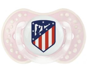 Club Atlético de Madrid + prénom : 0/6 mois - Retro-rose-tendre classique embout Lovi Dynamic