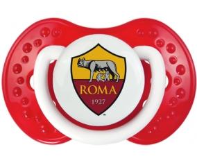 As Roma + prénom : 0/6 mois - Blanc-rouge classique embout Lovi Dynamic