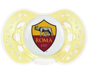 As Roma + prénom : 0/6 mois - Trendy-jaune classique embout Lovi Dynamic