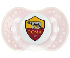 As Roma + prénom : 0/6 mois - Retro-rose-tendre classique embout Lovi Dynamic