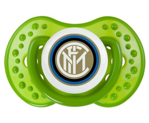 Inter de Milan + prénom : 0/6 mois - Vert classique embout Lovi Dynamic