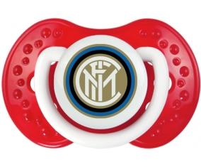 Inter de Milan + prénom : 0/6 mois - Blanc-rouge classique embout Lovi Dynamic