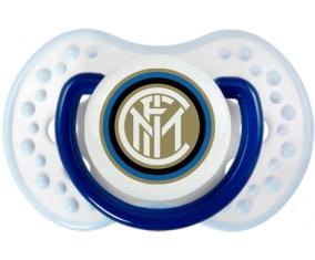 Inter de Milan + prénom : 0/6 mois - Marine-blanc-bleu classique embout Lovi Dynamic