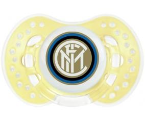 Inter de Milan + prénom : 0/6 mois - Trendy-jaune classique embout Lovi Dynamic