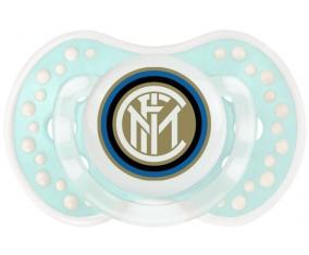 Inter de Milan + prénom : 0/6 mois - Retro-turquoise-lagon classique embout Lovi Dynamic