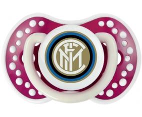 Inter de Milan + prénom : 0/6 mois - Fuchsia phosphorescente embout Lovi Dynamic