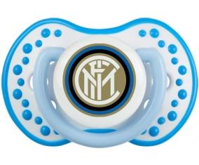 Inter de Milan + prénom : 0/6 mois - Blanc-bleu phosphorescente embout Lovi Dynamic