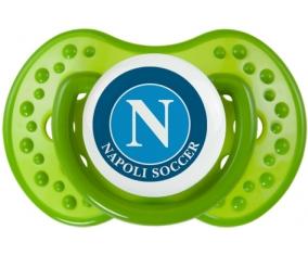 Napoli Soccer + prénom : 0/6 mois - Vert classique embout Lovi Dynamic