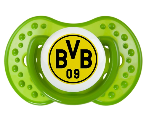BV 09 Borussia Dortmund + prénom : 0/6 mois - Vert classique embout Lovi Dynamic