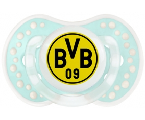 BV 09 Borussia Dortmund + prénom : 0/6 mois - Retro-turquoise-lagon classique embout Lovi Dynamic