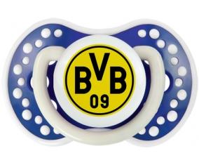 BV 09 Borussia Dortmund + prénom : 0/6 mois - Bleu-marine phosphorescente embout Lovi Dynamic
