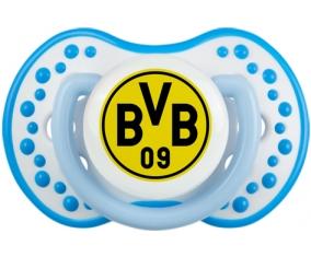 BV 09 Borussia Dortmund + prénom : 0/6 mois - Blanc-bleu phosphorescente embout Lovi Dynamic