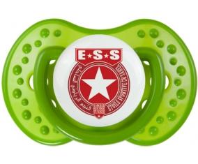 Étoile sportive du sahel + prénom : 0/6 mois - Vert classique embout Lovi Dynamic
