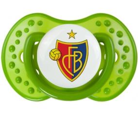 FC Bâle + prénom : 0/6 mois - Vert classique embout Lovi Dynamic