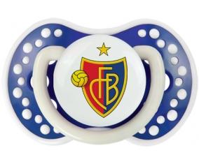 FC Bâle + prénom : 0/6 mois - Bleu-marine phosphorescente embout Lovi Dynamic