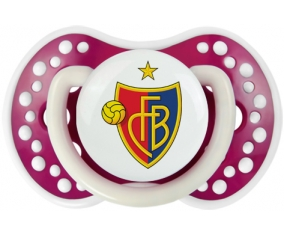 FC Bâle + prénom : 0/6 mois - Fuchsia phosphorescente embout Lovi Dynamic
