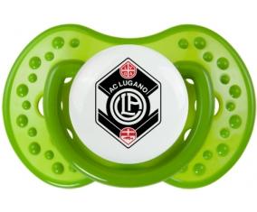 FC Saint-Gall + prénom : 0/6 mois - Vert classique embout Lovi Dynamic