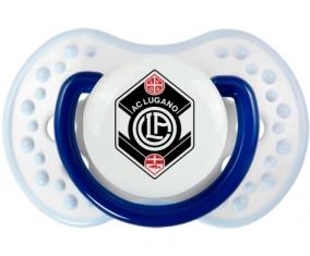 FC Saint-Gall + prénom : 0/6 mois - Marine-blanc-bleu classique embout Lovi Dynamic