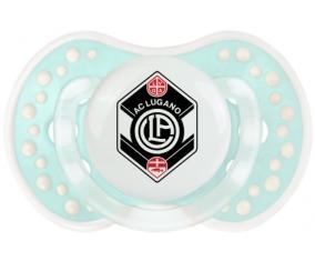 FC Saint-Gall + prénom : 0/6 mois - Retro-turquoise-lagon classique embout Lovi Dynamic