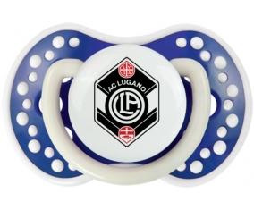 FC Saint-Gall + prénom : 0/6 mois - Bleu-marine phosphorescente embout Lovi Dynamic