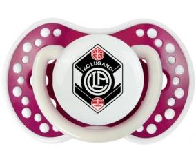 FC Saint-Gall + prénom : 0/6 mois - Fuchsia phosphorescente embout Lovi Dynamic