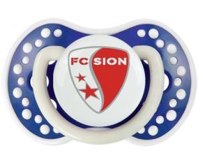 FC Sion + prénom : 0/6 mois - Bleu-marine phosphorescente embout Lovi Dynamic