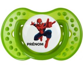 Spiderman + prénom : Sucette LOVI Dynamic personnalisée