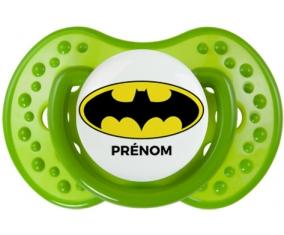 Batman + prénom : Sucette LOVI Dynamic personnalisée