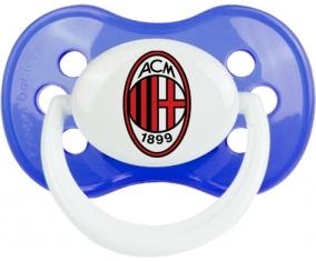 Ac Milan + prénom : Bleu classique embout anatomique