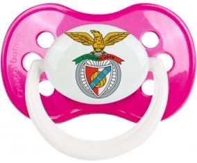 Benfica Lisbonne + prénom : Rose foncé classique embout anatomique