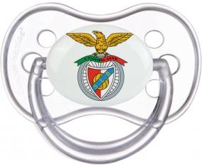 Benfica Lisbonne + prénom : Transparente classique embout anatomique