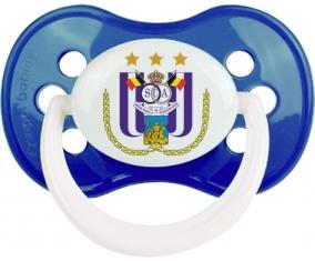 Royal Sporting Club Anderlecht + prénom : Marine classique embout anatomique