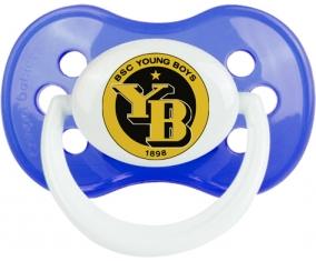 Young Boys Berne + prénom : Bleu classique embout anatomique