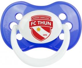 FC Thoune + prénom : Bleu classique embout anatomique