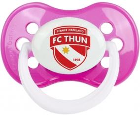 FC Thoune + prénom : Rose classique embout anatomique
