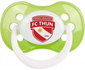 FC Thoune + prénom : Vert classique embout anatomique