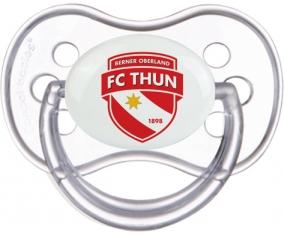 FC Thoune + prénom : Transparente classique embout anatomique