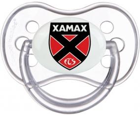 Neuchâtel Xamax + prénom : Transparente classique embout anatomique