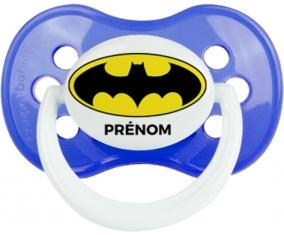 Batman + prénom : Sucette Anatomique personnalisée