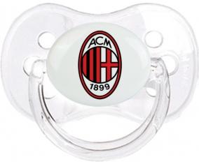 Ac Milan + prénom : Transparent classique embout cerise