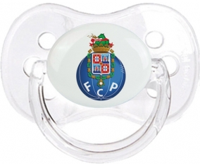 Futebol Clube do Porto + prénom : Transparent classique embout cerise