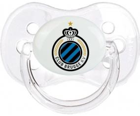 Club Brugge KV + prénom : Transparent classique embout cerise