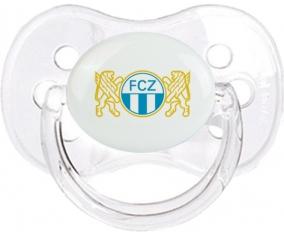 FC Zürich + prénom : Transparent classique embout cerise