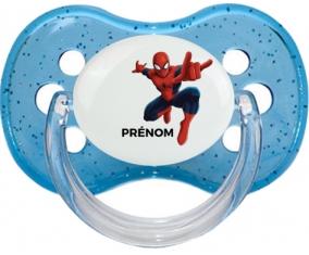 Spiderman + prénom : Tétine Cerise personnalisée